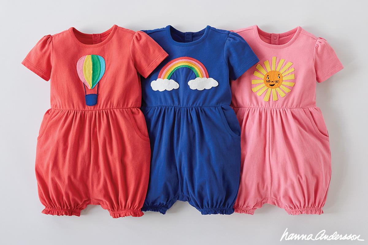 Hanna Andersson Infant Girl T Shirt Sun Cloud Size 75 Organic Cotton Buy Now Girls' Clothing (newborn-5t)